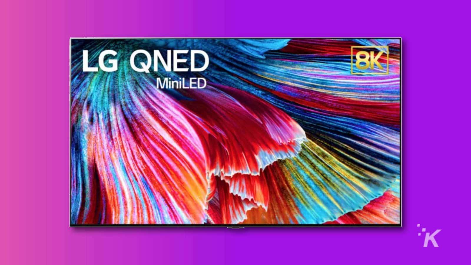 lg mini led tv 8k