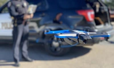 police using skydio drone