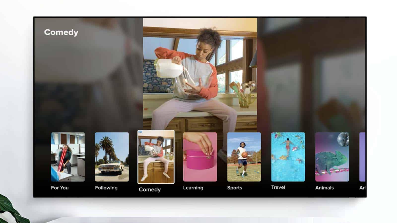 tiktok on a samsung smart tv