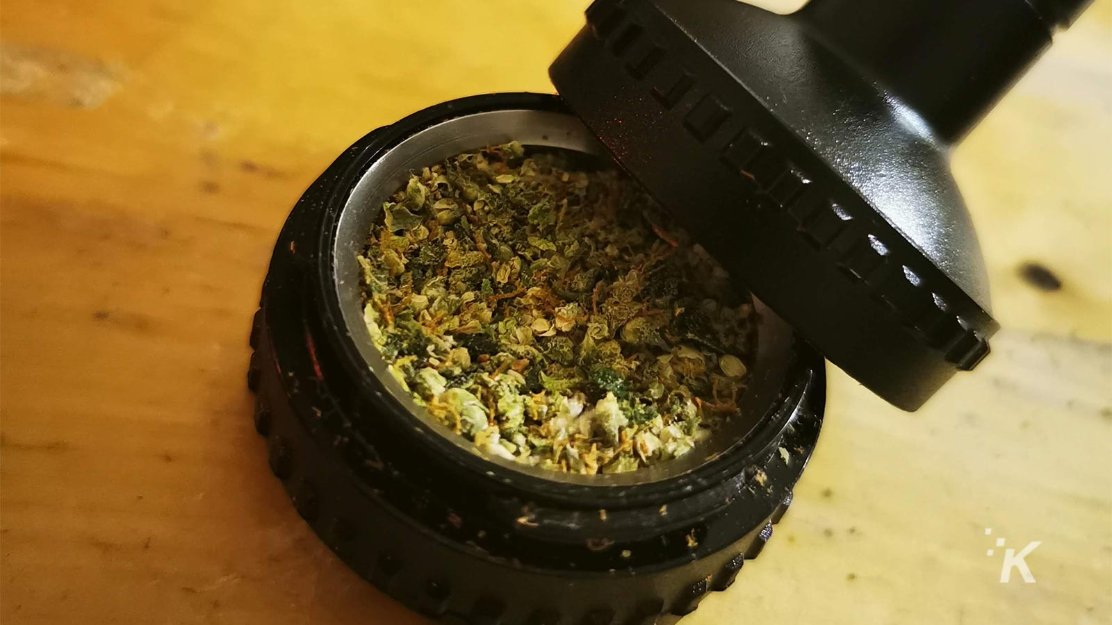 volcano chamber filled with weed