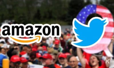 amazon twitter qanon logos