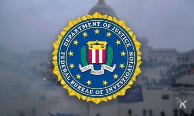 fbi logo in front of us capitol