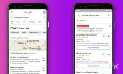 google maps covid-19 vaccine locations