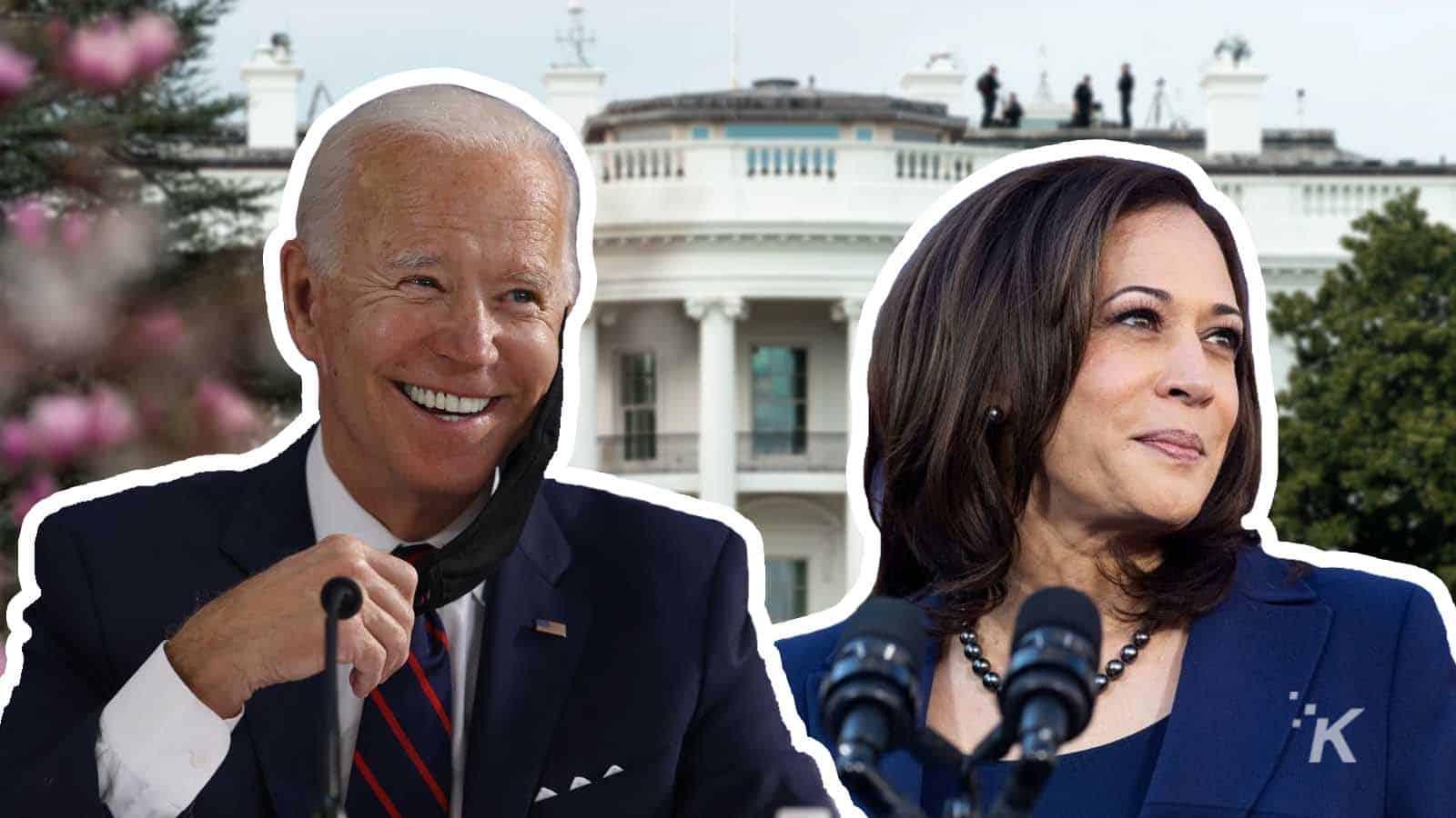 joe biden and kamala harris presidential inauguration internet