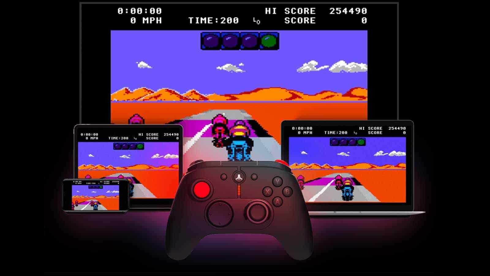 plex arcade with atari games