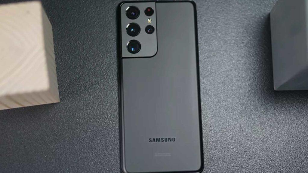 samsung galaxy s21 ultra smartphone