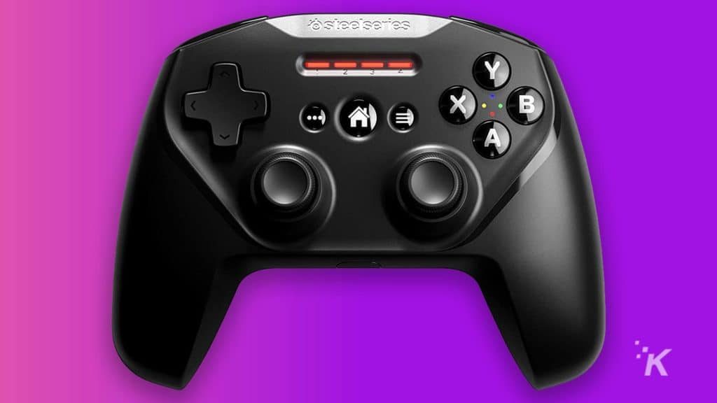 steelseries game pad controller