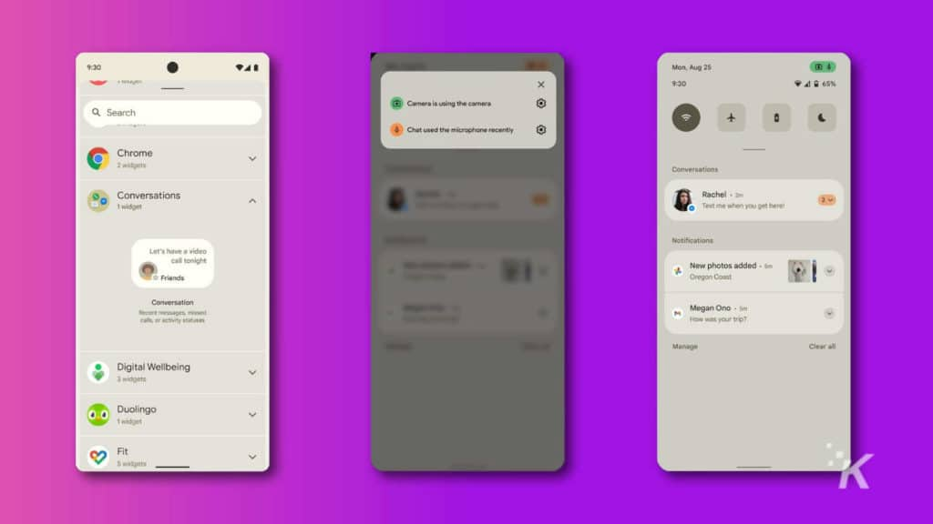 android 12 screenshots leaked by XDA