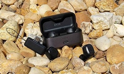 epos earbuds and charging case