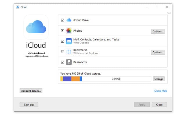 icloud password extension for chrome
