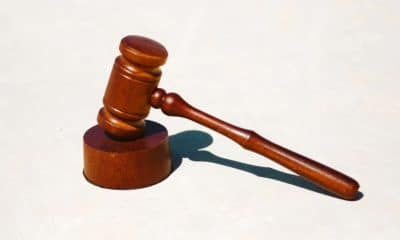 gavel on table for law firm