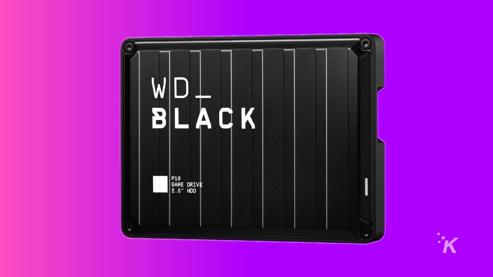 wd black external 5tb hard drive