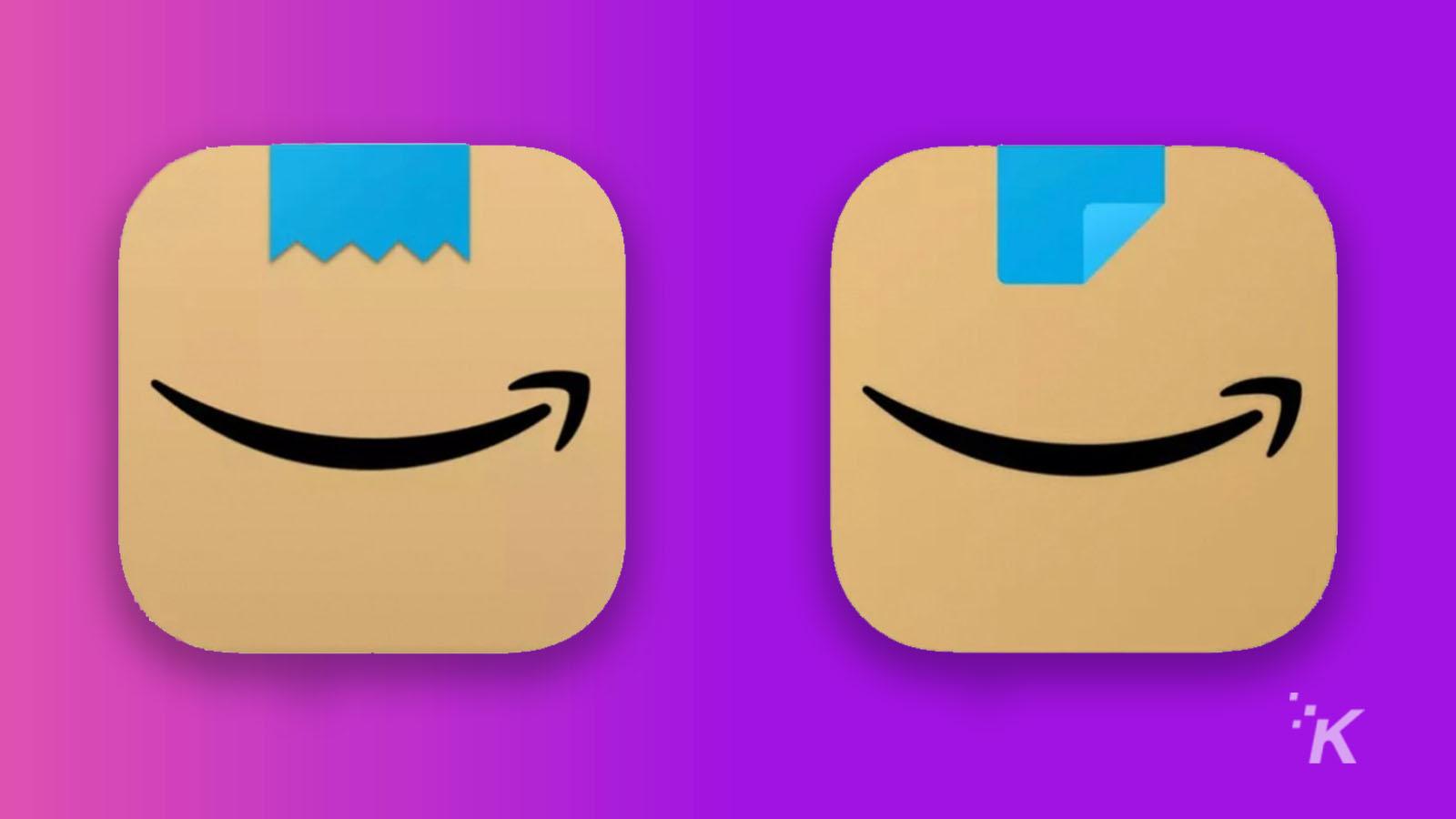 amazon logo refreshed to not look like hitler
