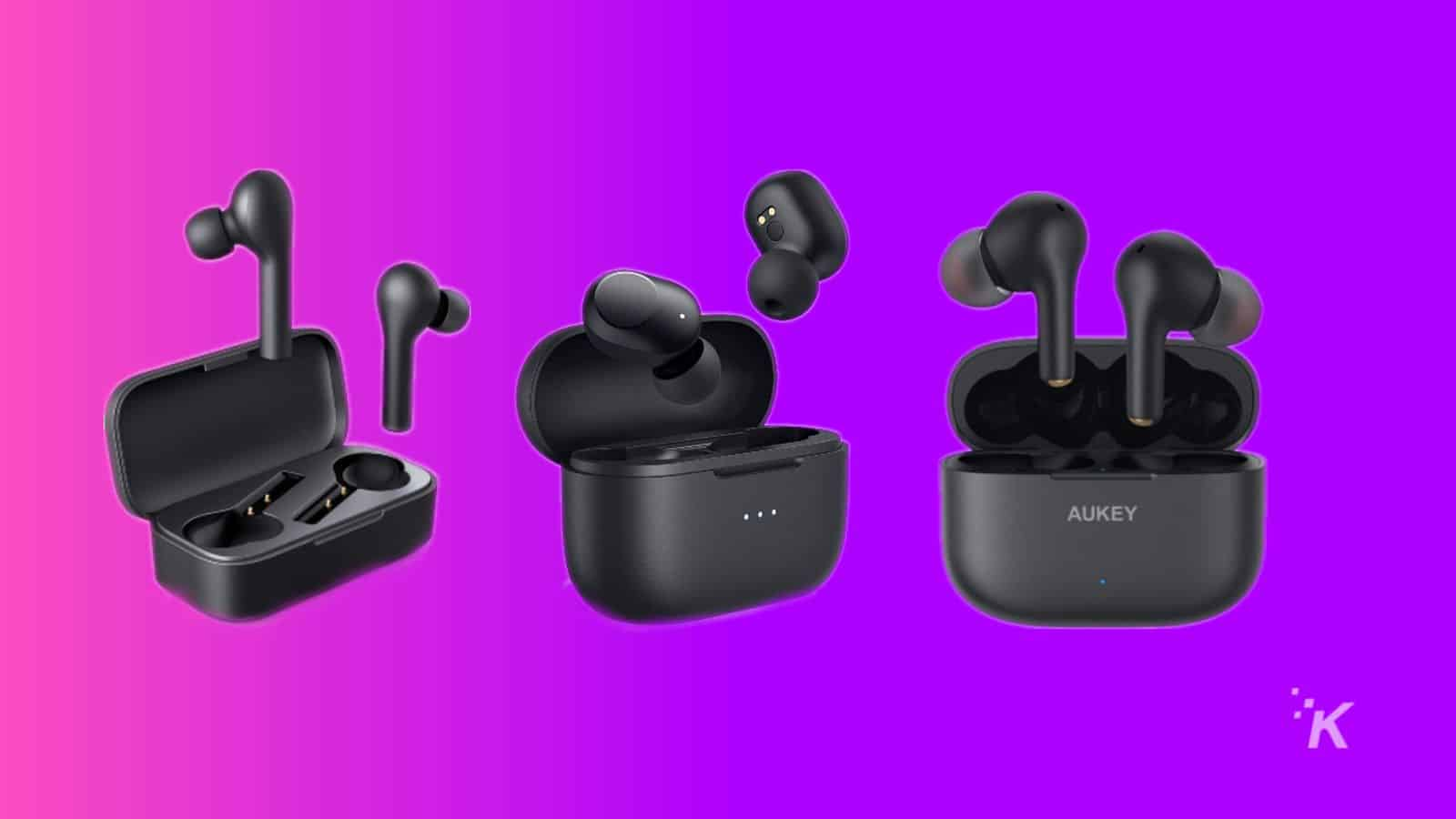 aukey headphones deal