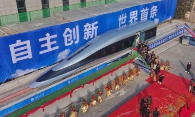 new chinese maglev train