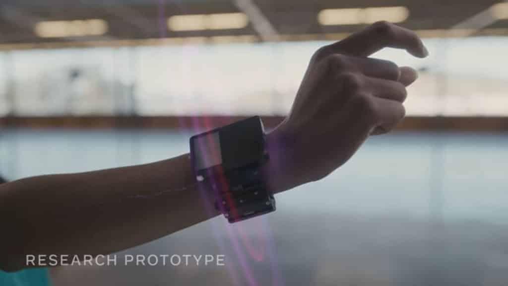 facebook wrist device
