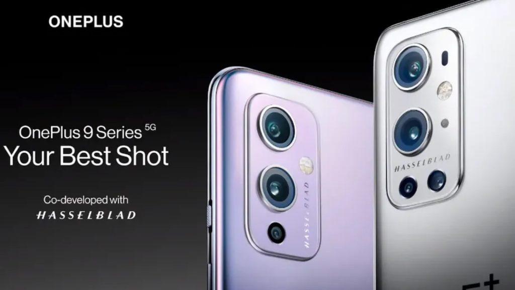 oneplus 9 and 9 pro smartphones