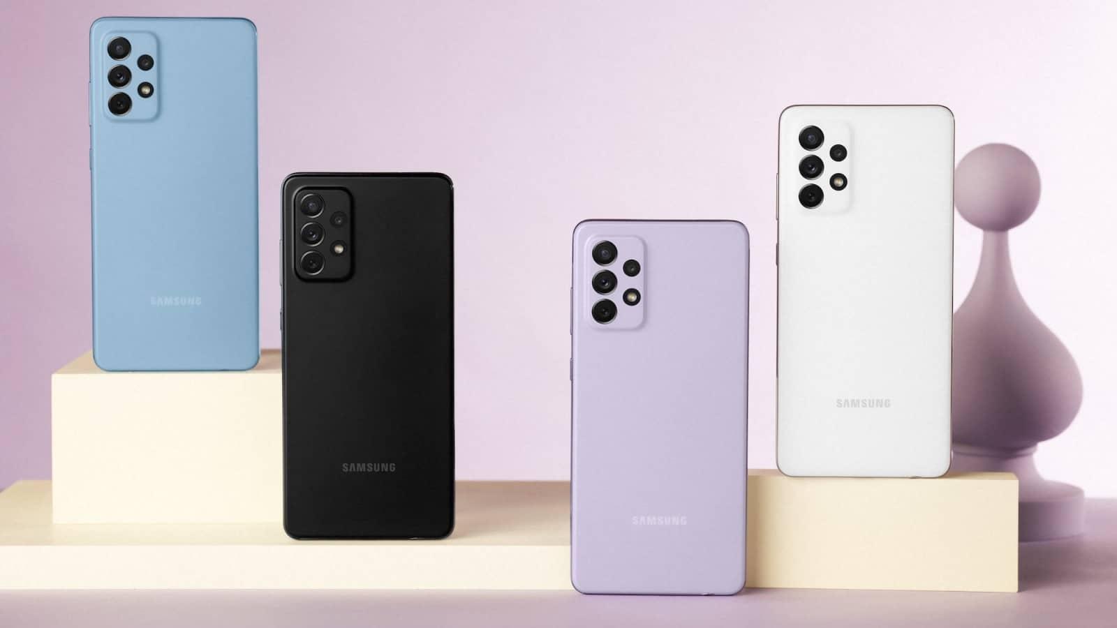 samsung galaxy a72 smartphones