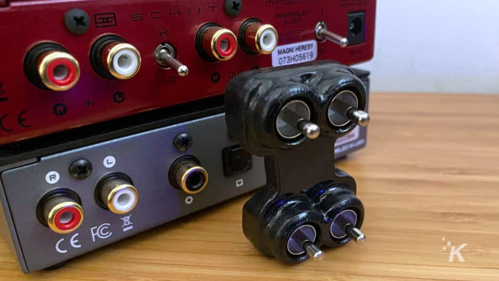 schiit magni modi with snakeoil interconnect