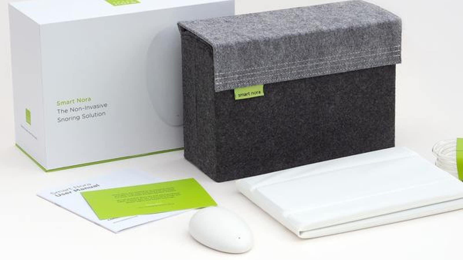 smart nora anti snoring device
