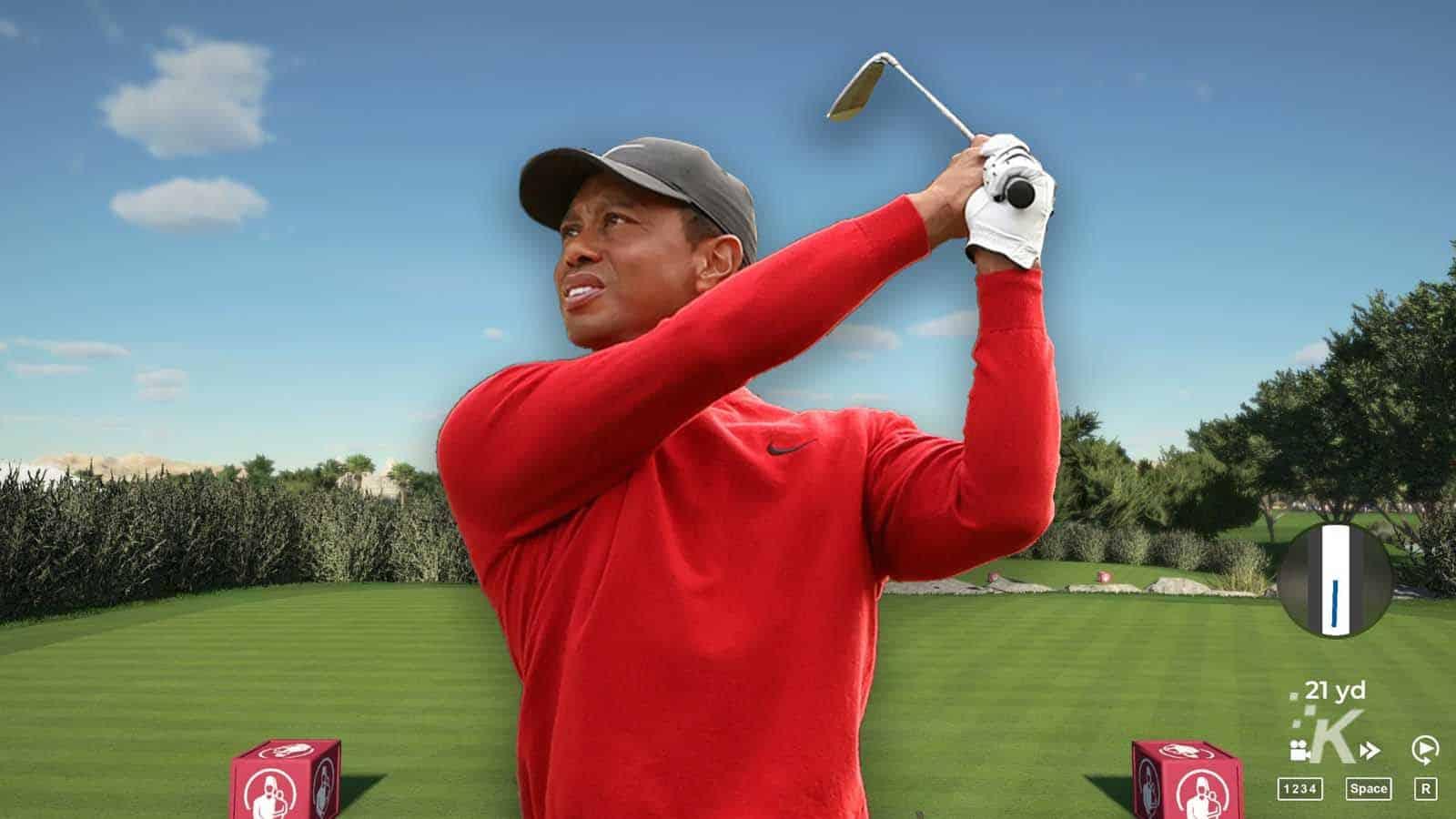 tiger woods return to golf games