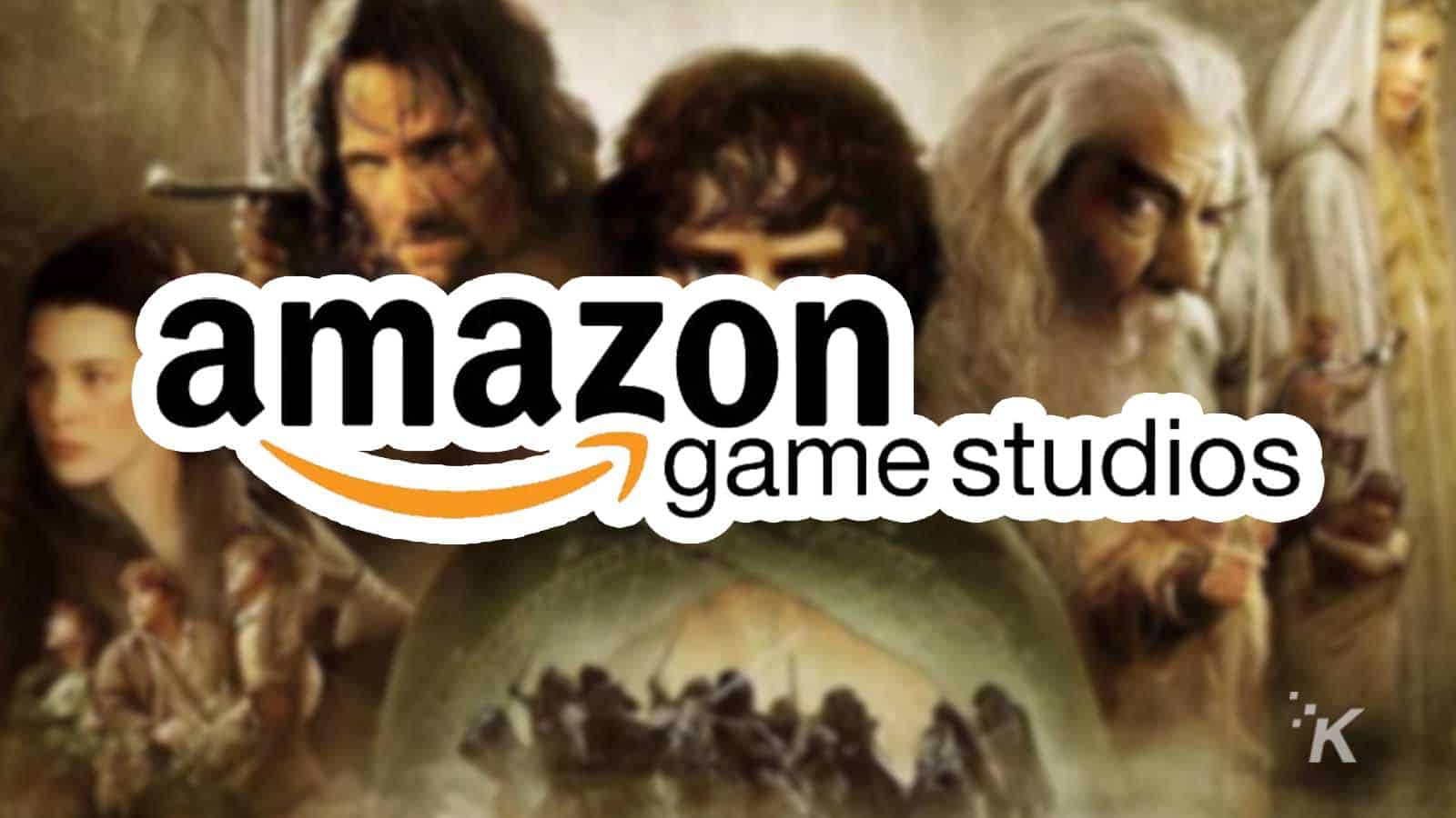 amazon game studios lord of the rings game