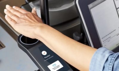 amazon one payment scanner