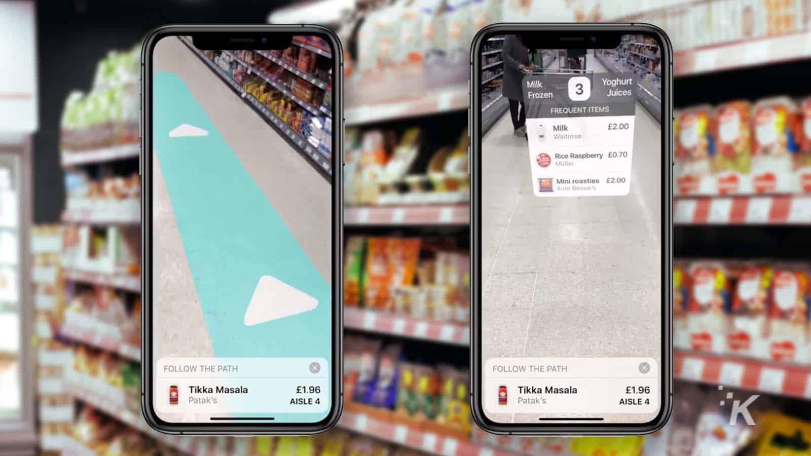 ar grocery shopping app