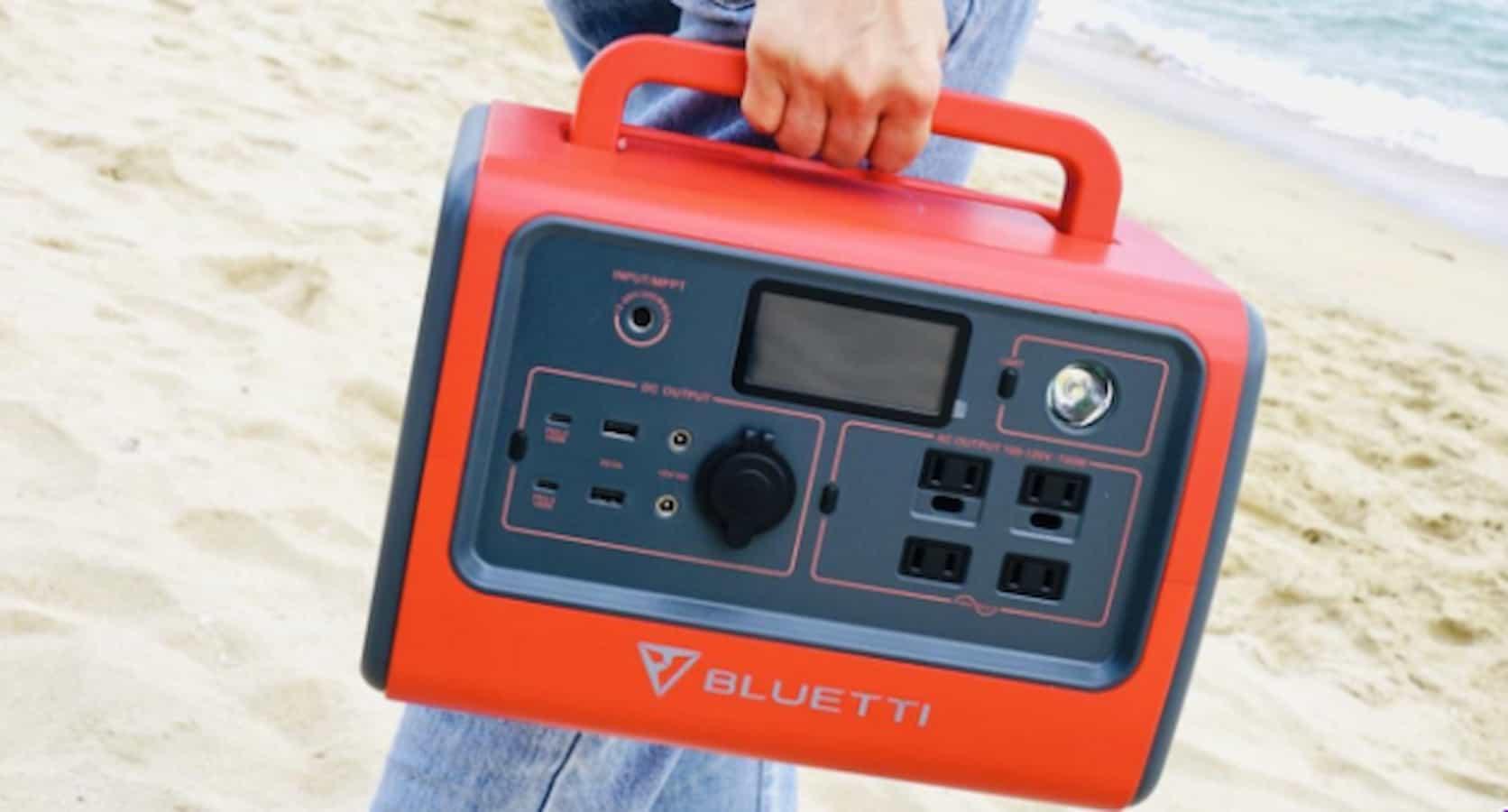 bluetti charging station