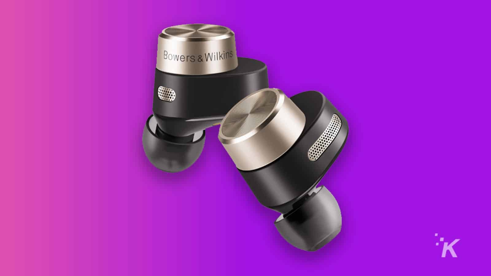 bowers and wilkins pi7 wireless earbuds with case