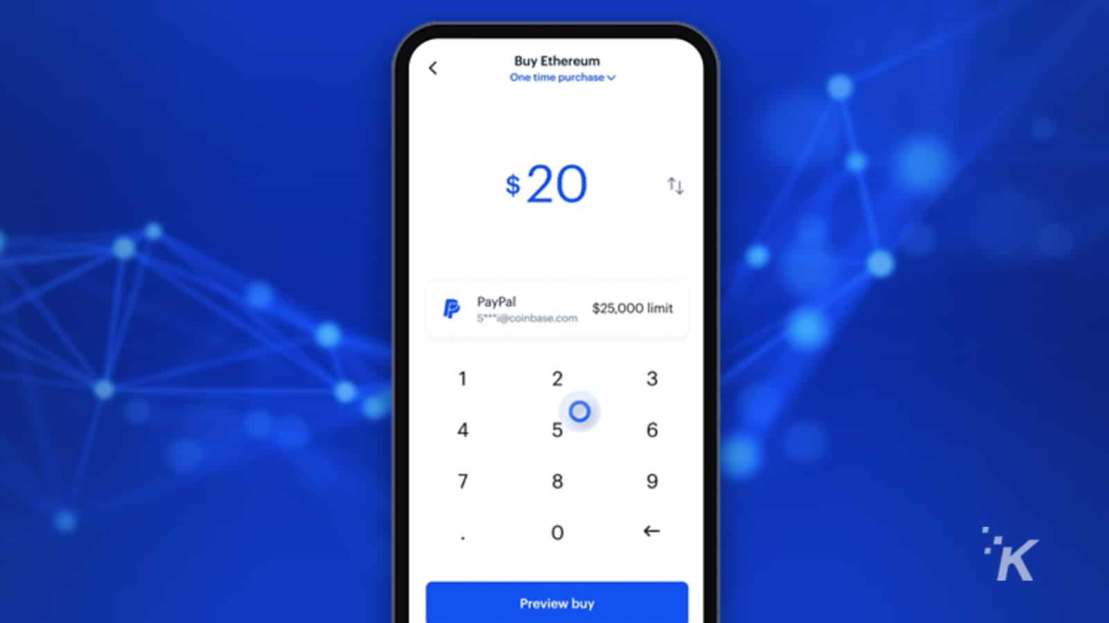 paypal on coinbase