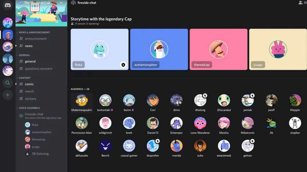discord stage channels clubhouse feature