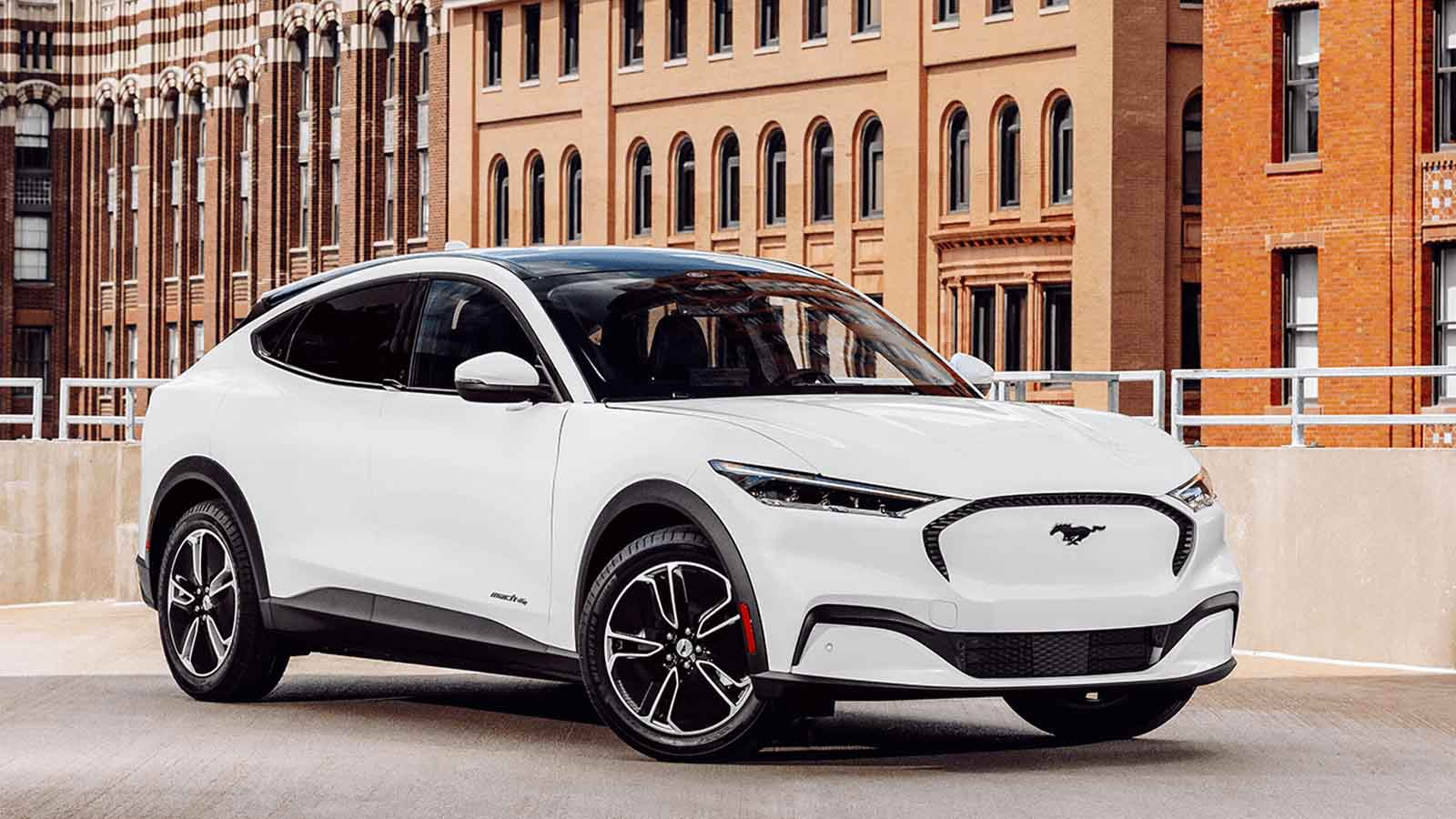 ford mustange mach-e electric vehicle