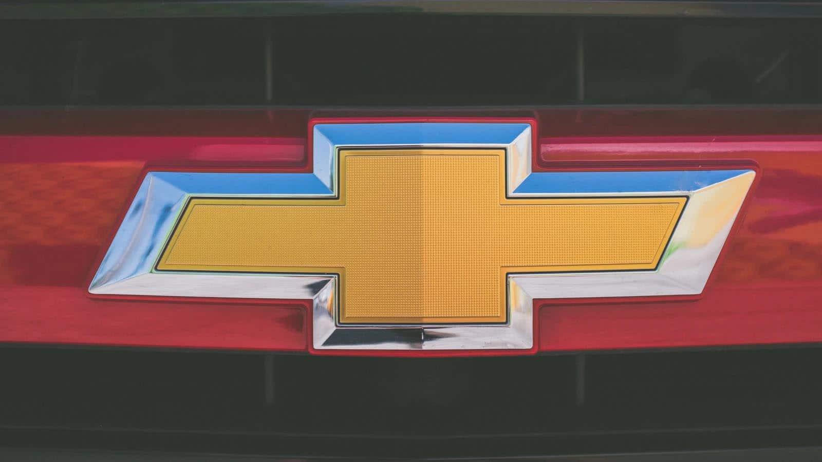 general motors chevrolet silverado logo
