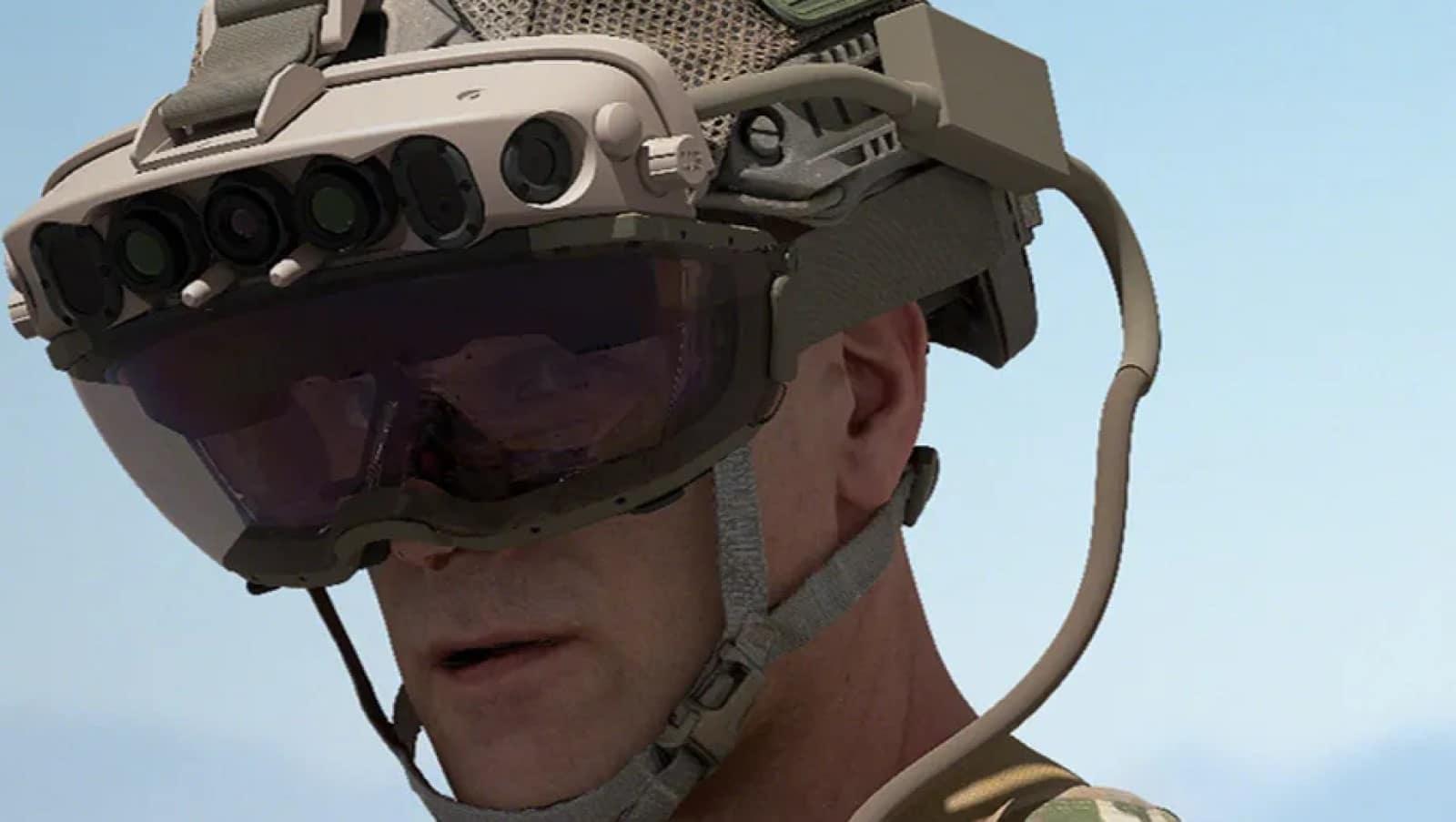 us army custom built microsoft hololens headset