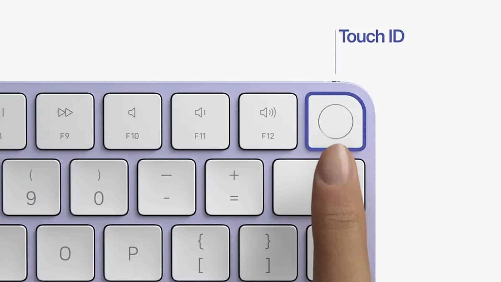imac touch id keyboard