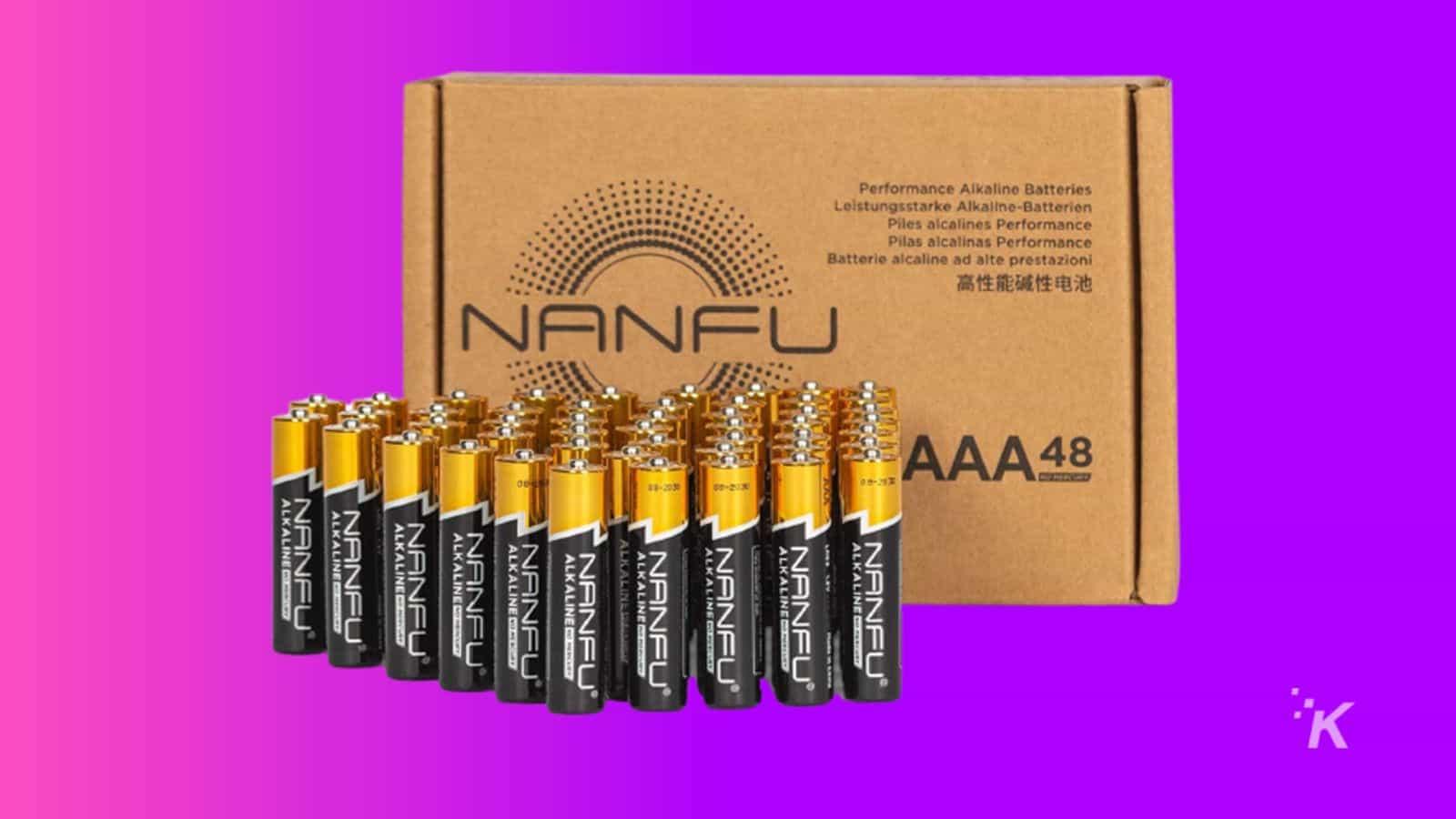 nafu aa batteries