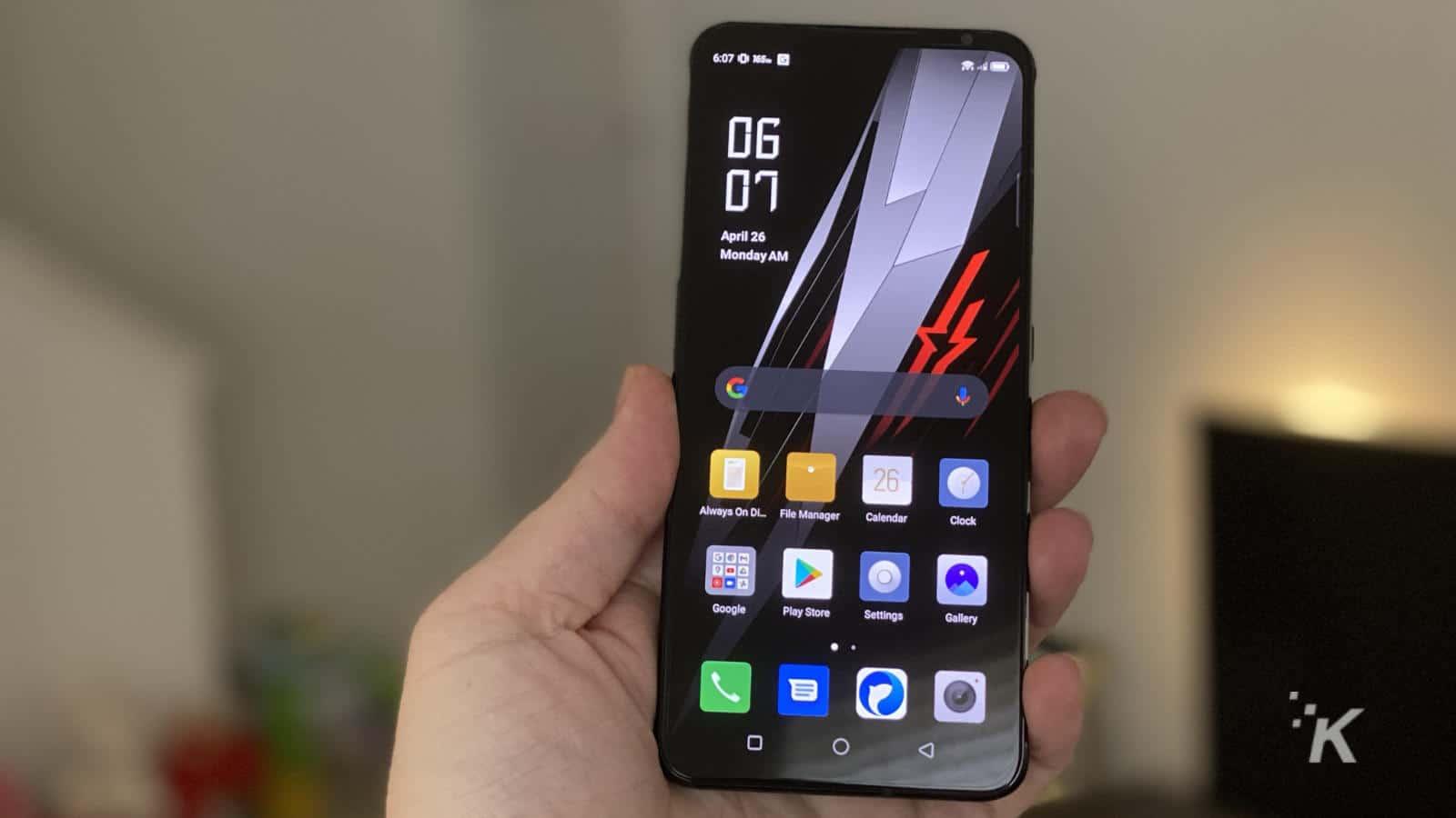 redmagic 6 gaming smartphone