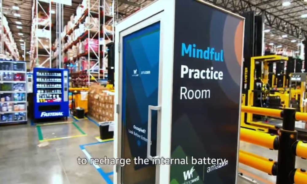 Amazon is giving its employees a closet to relax in