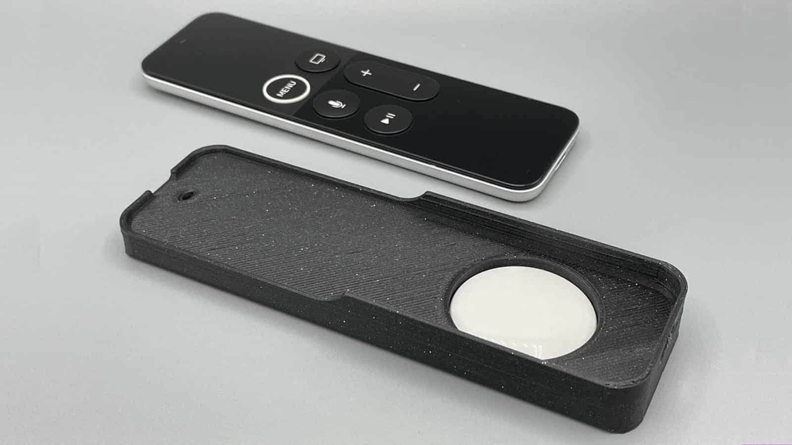 apple tv remote with airtags