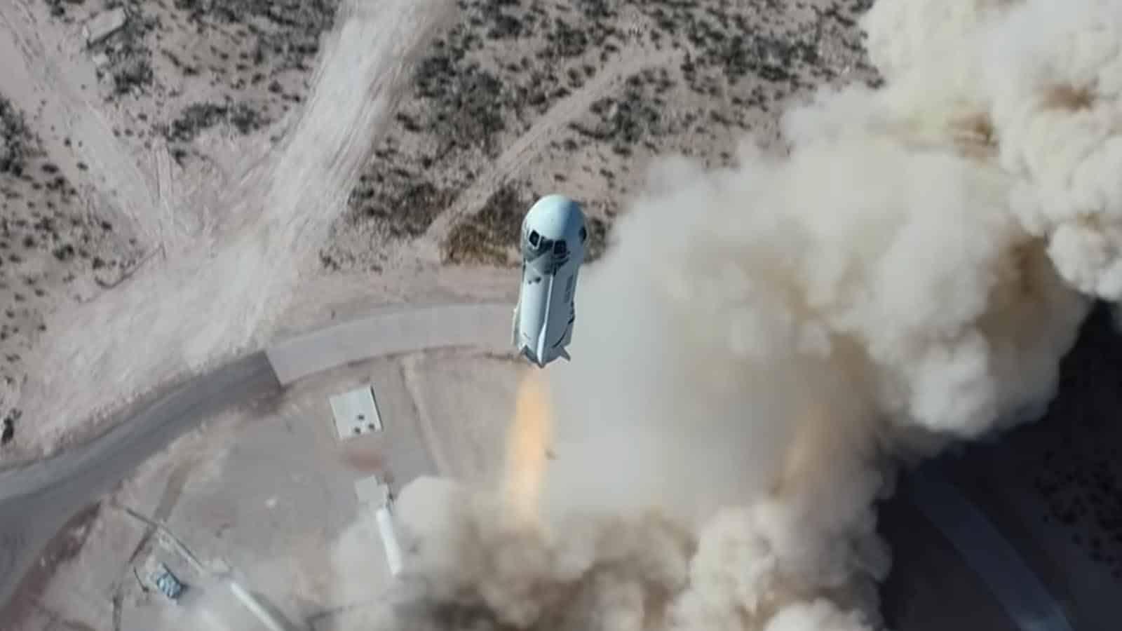 blue origin new shepard space flight launch