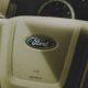 ford logo on steering wheel