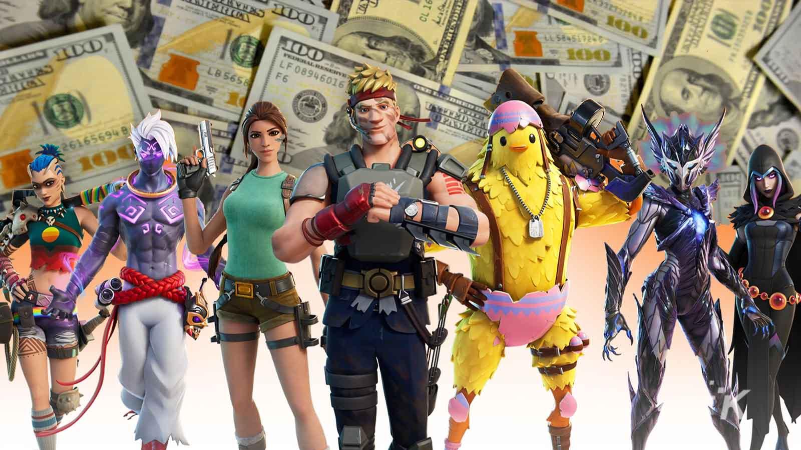 fortnite money
