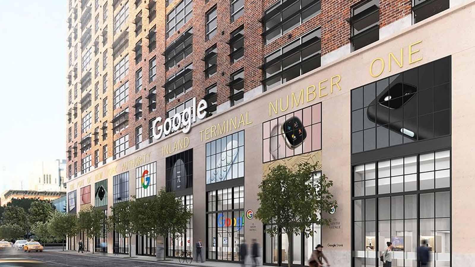 google store on street