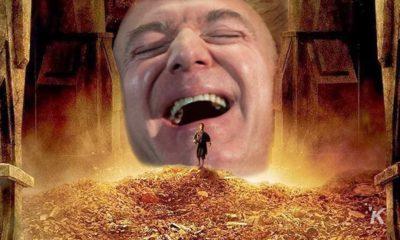 jeff bezos hoarding gold