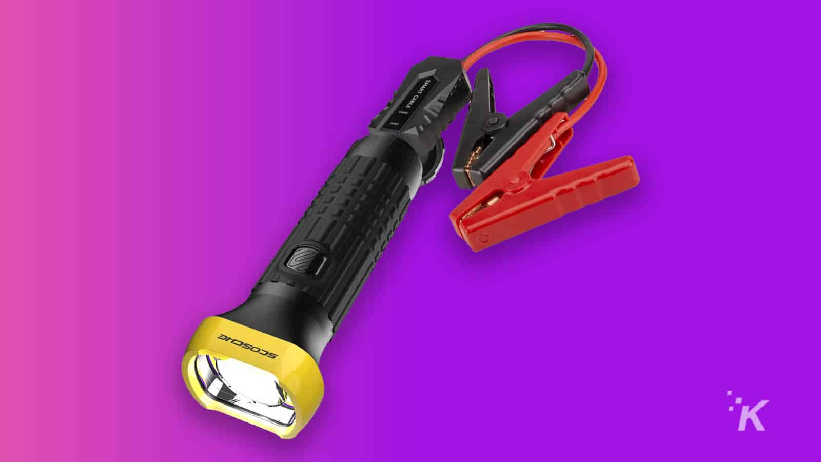 flashlight jump starter