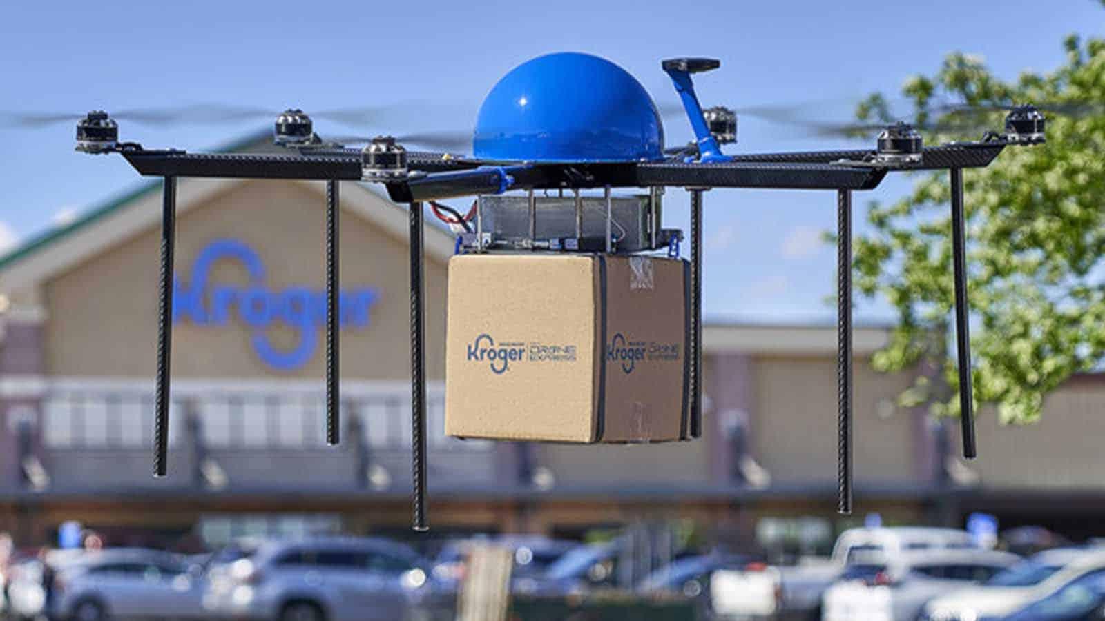 kroger drone delivery