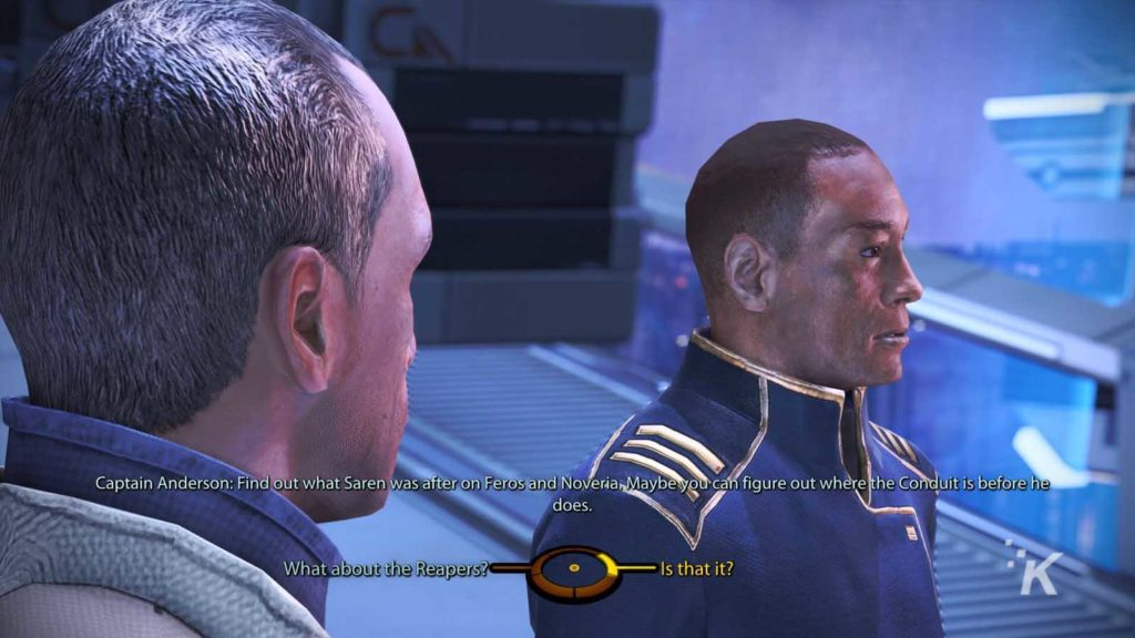 captain anderson mass effect