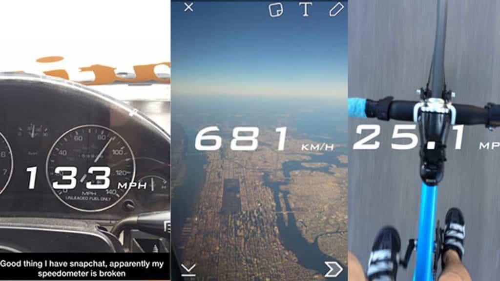 snap speed filter