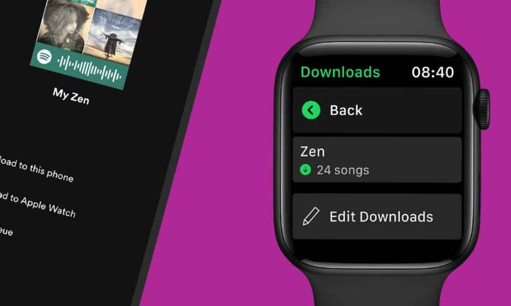 How to download Spotify music to your Apple Watch